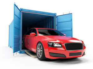 car shipping for red sports car